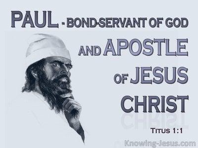 Titus 1:1