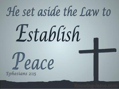 Ephesians 2:15