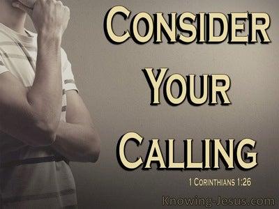 1 Corinthians 1:26