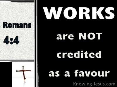 Romans 4:4