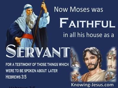 Hebrews 3:5