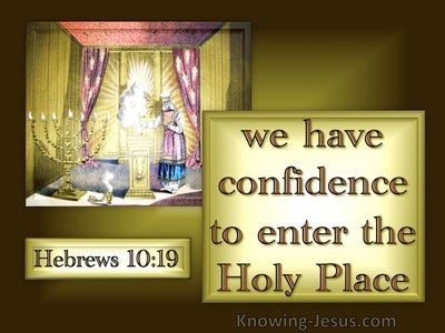 Hebrews 10:19
