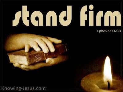 Ephesians 6:13