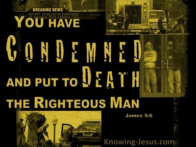 James 5:6