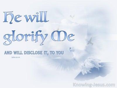 John 16:14
