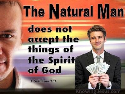 1 Corinthians 2:14