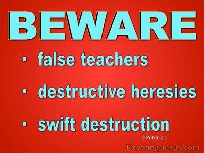 2 Peter 2:1