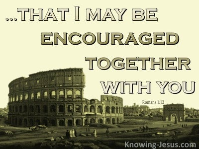 Romans 1:12