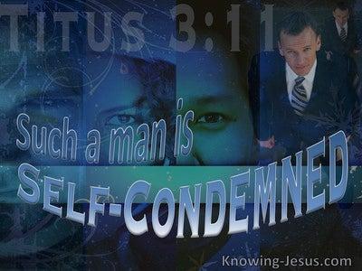 Titus 3:11