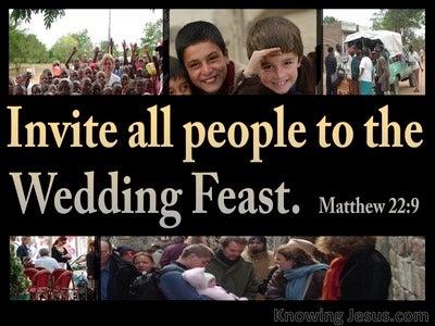 Matthew 22:9