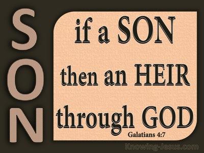 Galatians 4:7