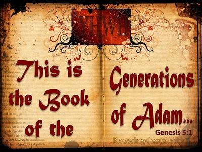 Genesis 5:1