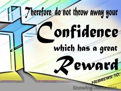 Hebrews 10:35
