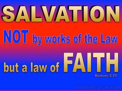 Romans 3:27