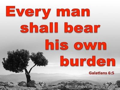 Galatians 6:5