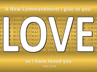John 13:34