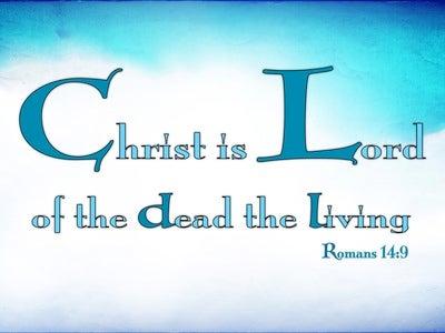 Romans 14:9