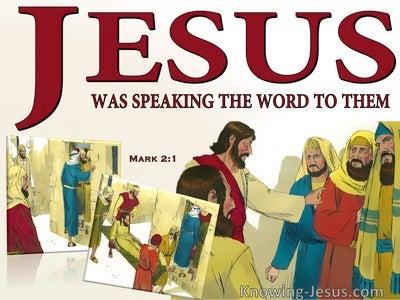 Mark 2:2