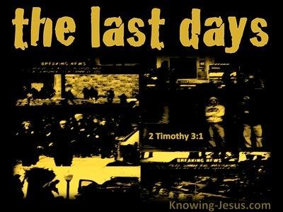 2 Timothy 3:1
