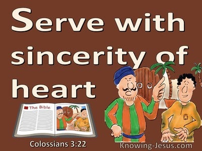Colossians 3:22