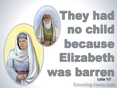 Luke 1:7