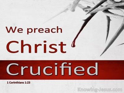 1 Corinthians 1:23