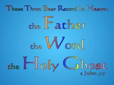 1 John 5:7