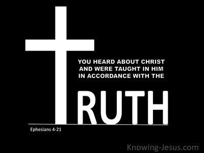 Ephesians 4:21