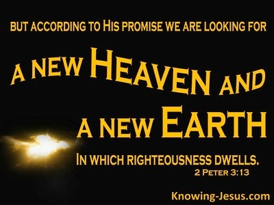 2 Peter 3:13