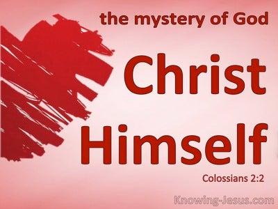 Colossians 2:2
