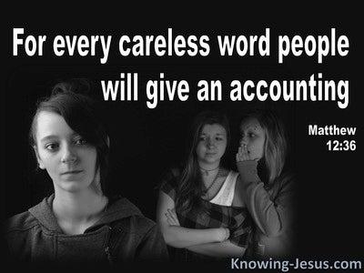 Matthew 12:36