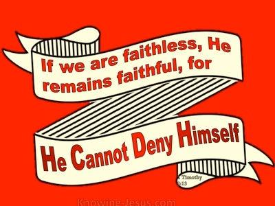 2 Timothy 2:13