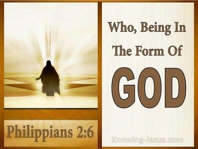 Philippians 2:6