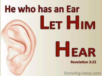 Revelation 3:22