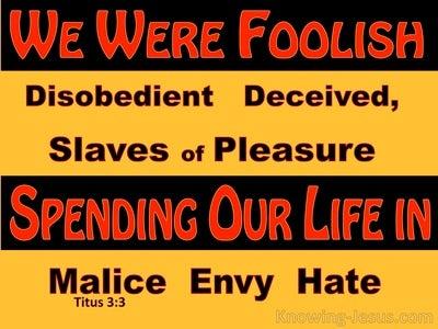Titus 3:3