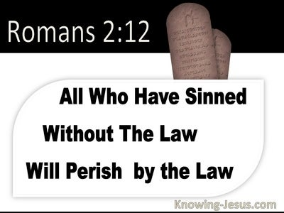 Romans 2:12