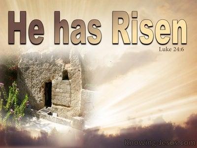 Luke 24:6