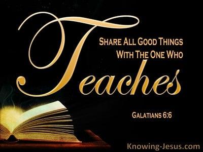 Galatians 6:6