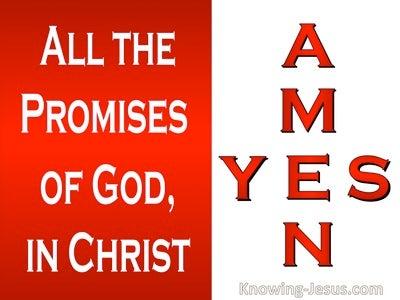 2 Corinthians 1:20