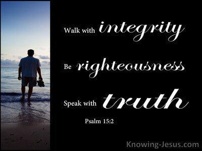 Psalm 15:2