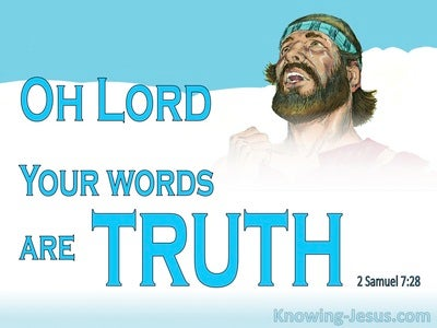 2 Samuel 7:28