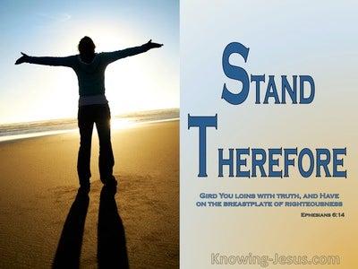 Ephesians 6:14