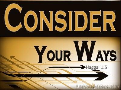 Haggai 1:5