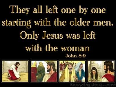 John 8:9