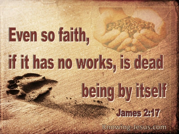 What Does James 2:17 Mean?