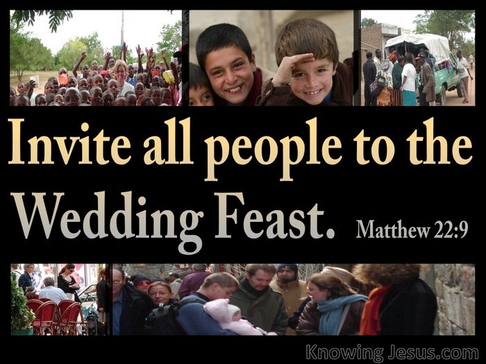 Image result for matthew 22:9
