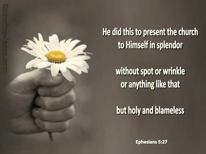 What Does Ephesians 5:27 Mean?