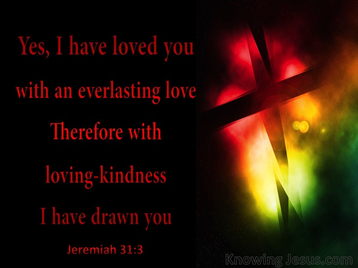 Jeremia 31 3