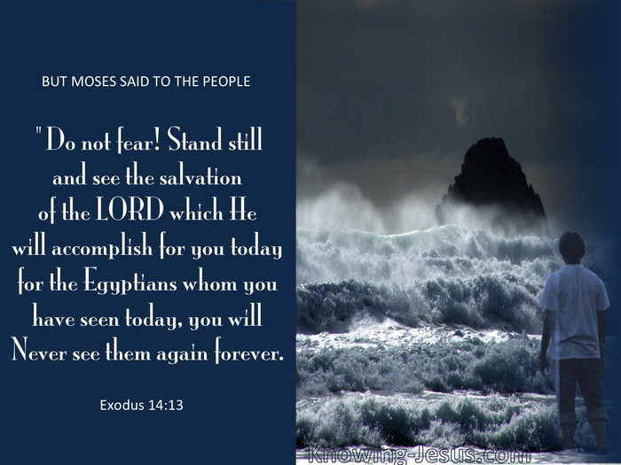 What Does Exodus 14:13 Mean?