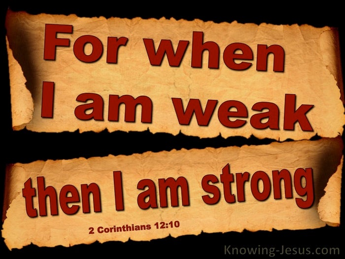 Image result for 2 corinthians 12:10 image